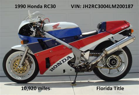 honda vfr 600 for sale honda rc30 search results sportbikes for sale