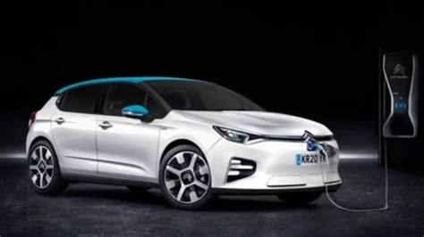 2020 New Citroen C4 by Citro 235 N C4 Will Debut An Electric Version In 2020