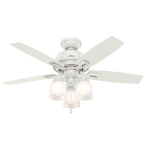 hunter 44 inch ceiling fan 44 inch hunter fan donegan led ceiling fan with light