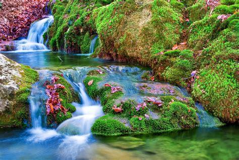imagenes para pc naturaleza descargar 3600x2410 cascada vegetacion selva naturaleza