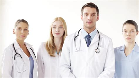 Stock Mainan Anak Doctor 3 In 1 Doctor Set Laris of smiling doctors hd 4k stock footage 24000198