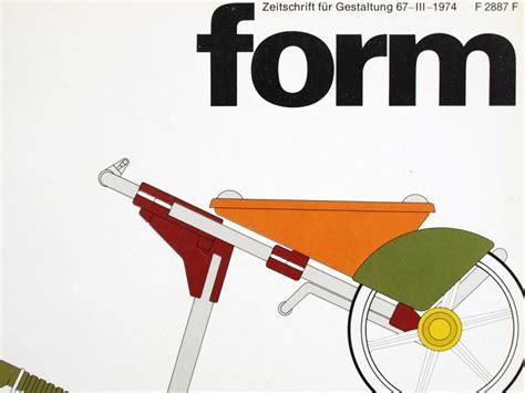 form design zeitschrift ruempelstilzchen form 67 zeitschrift f 252 r gestaltung 1974
