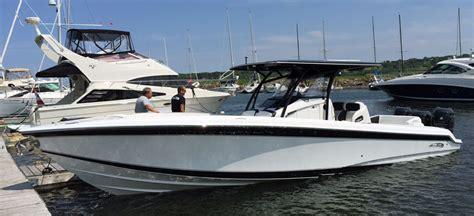 nortech boats canada nor tech 34 center console hits 88 mph