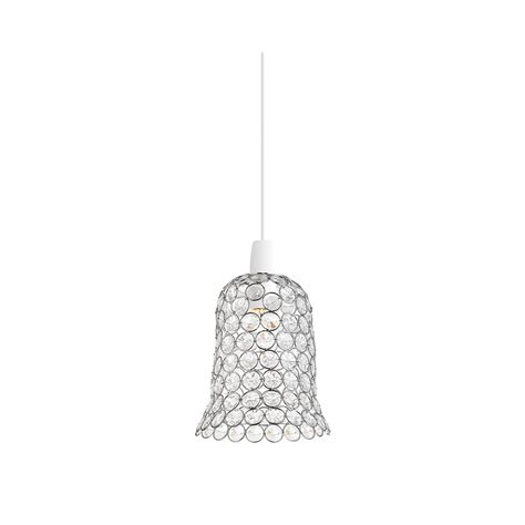 kirkham acrylic non electric ceiling pendant light ne