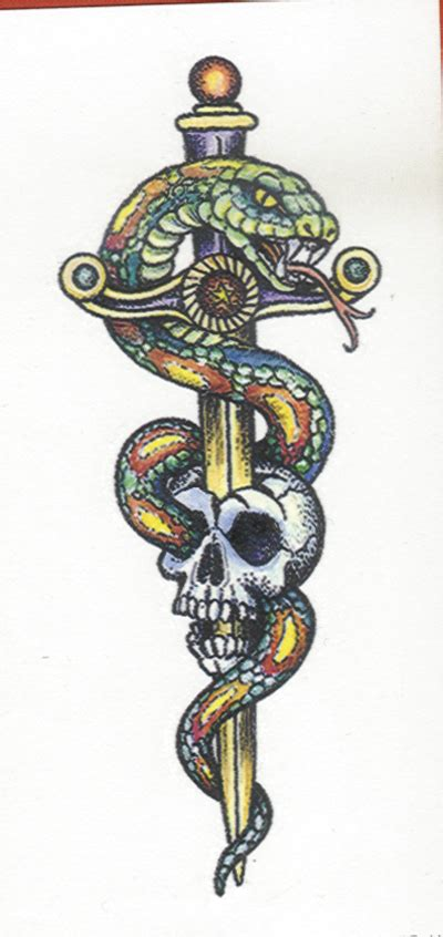 skull and sword tattoo skull and sword lawas