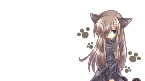 wallpaper cat girl 24 anime backgrounds wallpapers images pictures