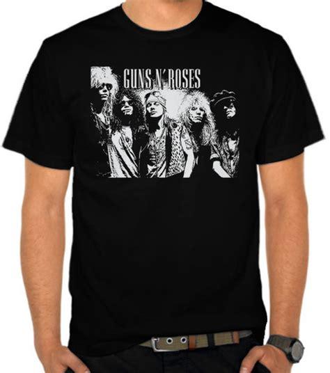 Kaos Guns N Roses Gunrose 11 jual kaos guns n roses 5 guns n roses satubaju
