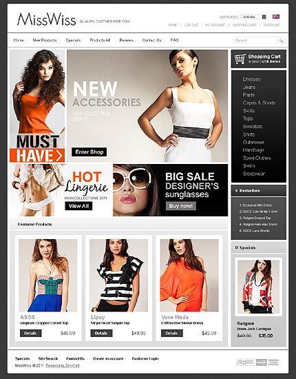 websitetemplates bz blog fashion and clothes templates
