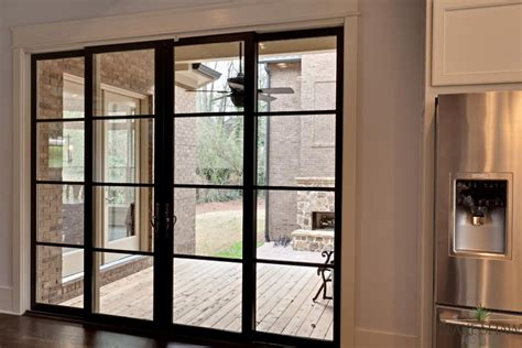 Sliding Glass Doors Atlanta Brookhaven Custom Home Shaw Homes Atlanta Athens Custom Homes And Remodeling
