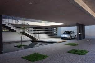 modern garage design whole home makes living amp dining room and the house bigger because