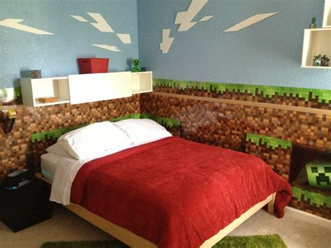minecraft style bedroom 25 best ideas about boys minecraft bedroom on pinterest