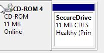 format cd to cdfs remove secure drive cdfs partition from transcend jetflash