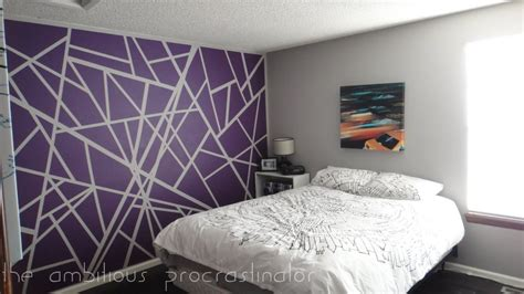 cool wall painting ideas cool easy wall paint designs remove the strips of tape to