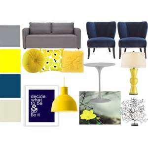yellow living room set quot navy gray and yellow living room set quot by bekahjoy813 on polyvore home decor pinterest