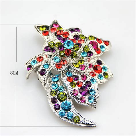 Beautiful Brooches From The Jewellery Stall by Beautiful Fashionable Flowers Alloy Brooch In Brooches