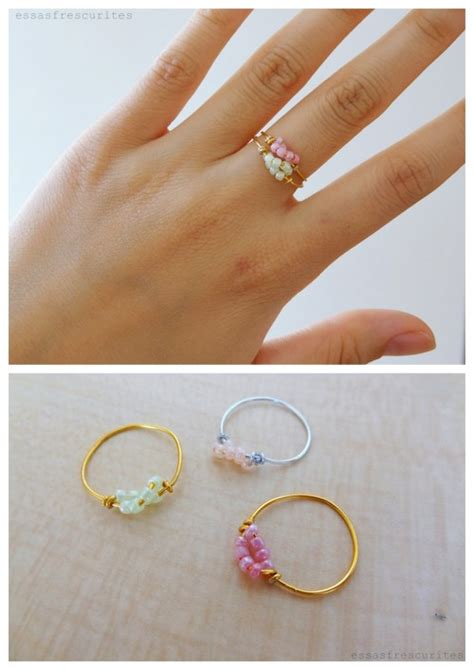 diy rings jewelry diy wire bead ring