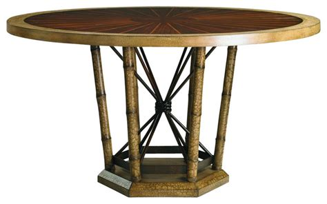 henry link safari dining table tropical dining tables