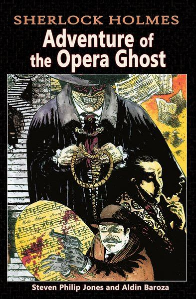 the further adventures of sherlock the haunting of torre books sherlock adventure of the opera ghost caliber comics