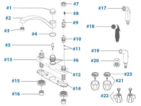 Single Handle High Arc Kitchen Faucet repair parts for delta kitchen faucets