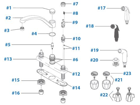 Kitchen Faucet Aerator repair parts for delta kitchen faucets