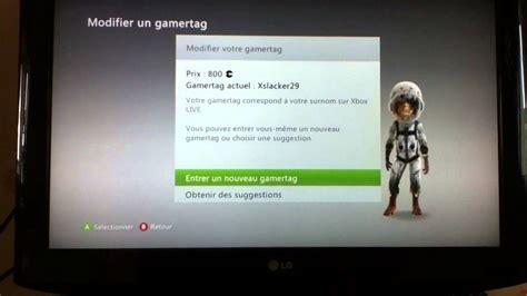 Xbox Gamertag Lookup Changer Pseudo Xbox Nouveau Gamertag Comment Pourquoi