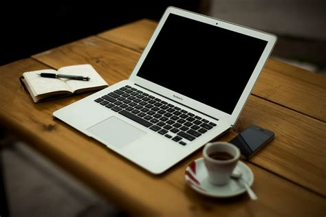 Laptop On Desk Best Methods To Learn Photography Photolisticlife
