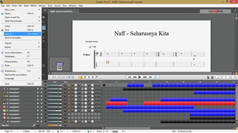 tutorial gitar untitled maliq belajar kord dan melodi gitar cara membuat file guitar