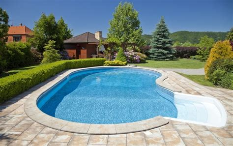 pool in backyard cost backyard swimming pools types and cost epic home ideas