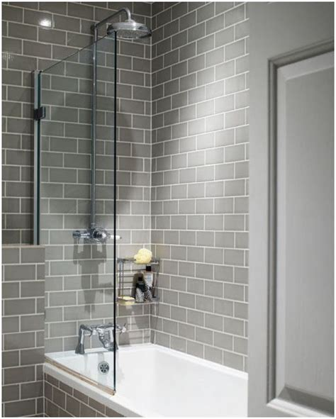 Modern Subway Tile Bathroom Designs 25 Best Ideas About Grey Bathroom Tiles On