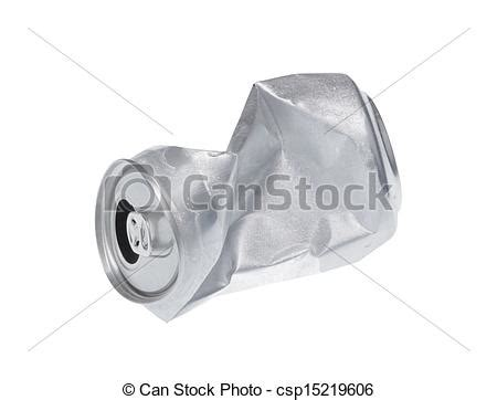 Instant Russelia Syar I Broken White broken soda can isolated on white stock photo instant csp15219606