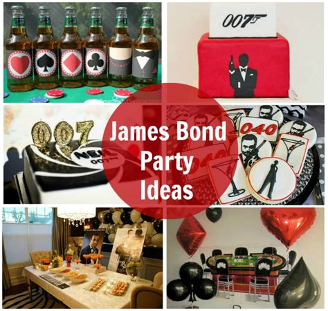 Homemade Themes By James | james bond party ideas
