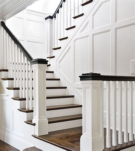 1930s banister bannister design dream house pinterest style black