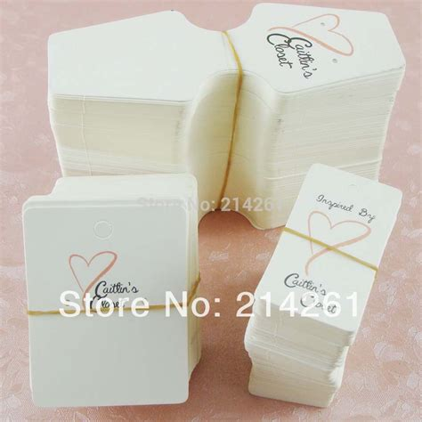 card accessories wholesale wholesale free shipping moq 500sets jewelry card custom