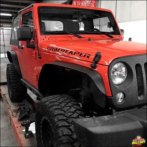 Aftermarket Jeep Fenders We Added New Aftermarket Smittybilt Fender Flares On This