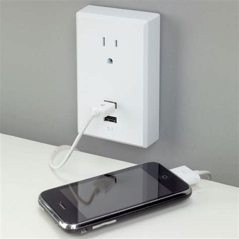 usb wall outlet plug plug in usb wall outlets the green head
