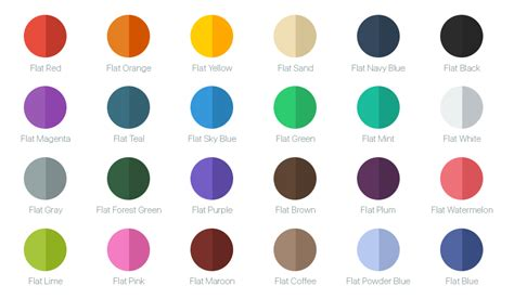flat white color github viccalexander chameleon color framework for