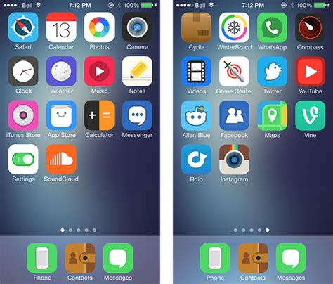 cartoon themes cydia your world tricks best 10 winterboard themes for ios 7 in