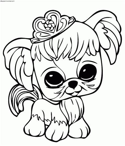Dibujos Sin Colorear Dibujos De Personajes De Littlest Dibujos De Pet Shop Y Con Color