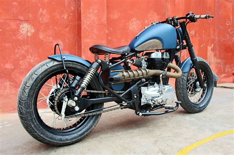 Modified Bobber by Royal Enfield Thunderbird Bobber By Bull City Customs