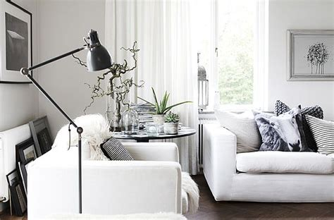 scandinavian homes interiors simple black and white scandinavian interior in b w