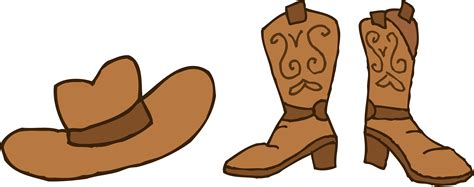 cowboy boot illustrations and clip art 1346 cowboy boot cowboy outline clip art 52