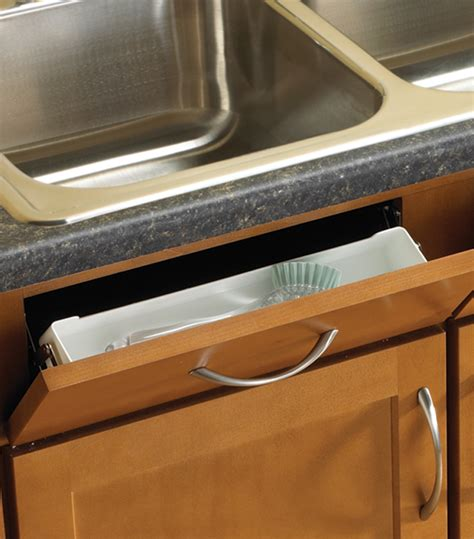 Sink Front Storage Tray Kit (Set of 2) in Sink Organizers