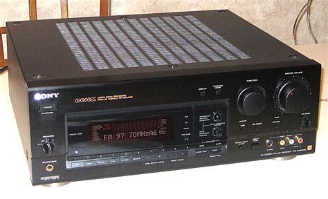 str report sle sony str gx900es 5 1 stereo receiver w remote and manual