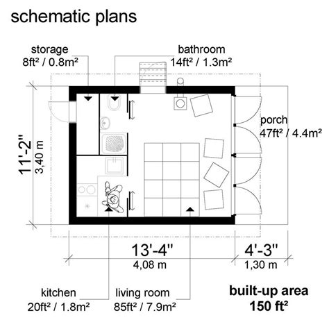 small floor plans small house plans with shed roof