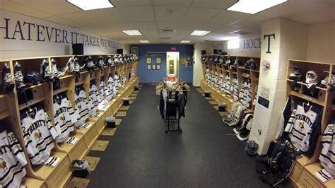hockey locker room college hockey locker room time lapse
