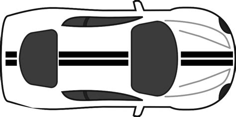 vehicle top view top view of a car clipart clipartxtras