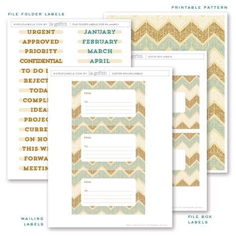 free printable office labels by lia griffith worldlabel blog