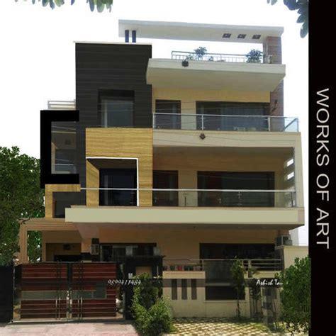 home exterior design in delhi residential exterior services residential flat exterior