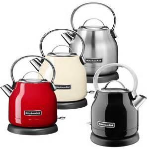 1 25 l electric kettle kitchenaid 5kek1222 in 4 colours