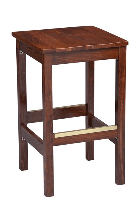 counter height bar stools wood regal seating model 1110w commercial wooden backless